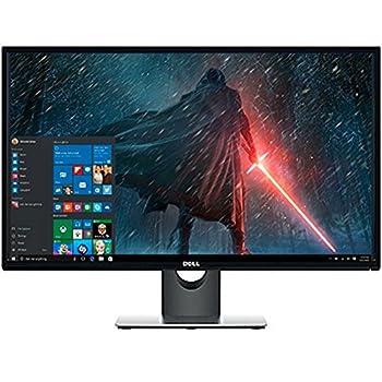 Premium High Performance Dell 27  Full HD IPS LED-Backlit 1920x1080 Resolution Monitor Widescreen 16 9 Aspect Ratio 6ms Response Time HDMI VGA Inputs,Black