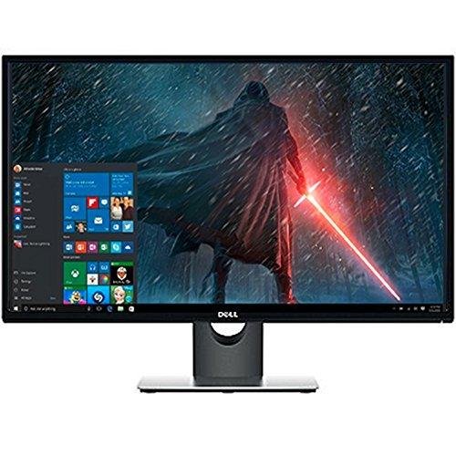 "Premium High Performance Dell 27"" Full HD IPS LED-Backlit 1920x1080 Resolution Monitor Widescreen 16:9 Aspect Ratio 6ms Response Time HDMI VGA Inputs,Black"