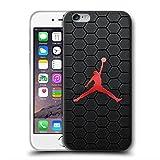SDKMOVREQ Funda iPhone 5 5S SE Case J Logo Estuche Transparente TPU Transparente Protector Transparente Cubierta de teléfono Celular