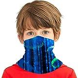 Puilkfgt - Fondo de forma abstracta eléctrica Medusa Gh reemplazable polvo neblina protección de la salud facial