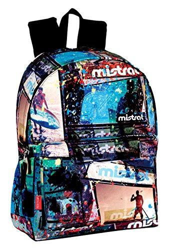 Perona 54005 Mistral Mochila Escolar, 42 cm, Multicolor