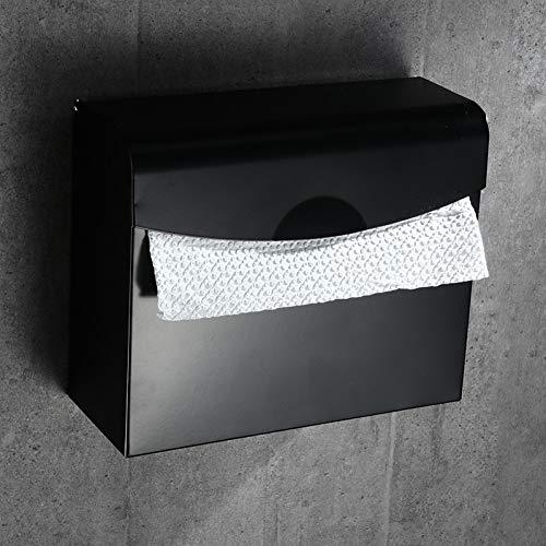 LANKOULI Scatola per fazzoletti da Bagno Set di Accessori per Il Bagno Porta Carta Scatola di fazzoletti per AlimentiCarta igienica Rotolo di Carta Asciugamani Dispenser Tovaglioli Rack Metallo