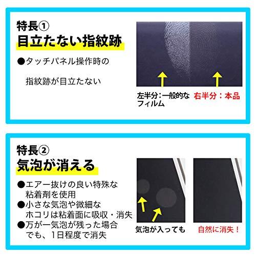 ASDECNintendoSwitchフィルム反射防止ノングレアフィルム指紋防止気泡消失日本製MF-NSW01