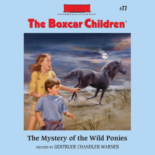 The Mystery of the Wild Ponies cover art