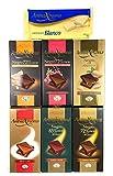 Pack de 7 tabletas de chocolate Antiu Xixona - Calidad Premium: Chocolate con Leche, Chocolates Puros y Chocolate Blanco