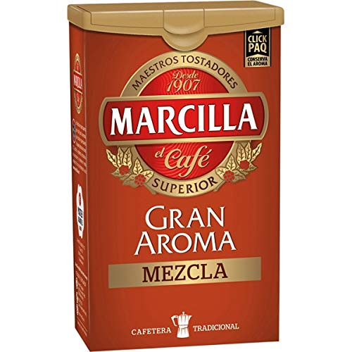 MARCILLA GRAN AROMA gemahlener Kaffee Mischen 250g 10x verpacken