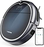Tomefon G50 Robot Vacuum Cleaner with Wi-Fi Connectivity, 1500Pa Suction, Quiet, Self-Charging Robotic Vacuum Cleaner for Hard Floors to Carpets (Updated)