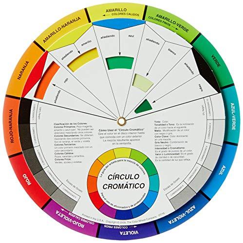 Color Whell Circulo Cromático, Multicor, 13cm