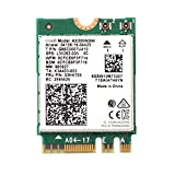AX200 Next-Gen WiFi 6 Wireless Network Card M.2 NGFF ax200ngw 160MHz 802.11ax/ac 2.4Ghz 5Ghz BT5.0 WiFi Adapter MU-MIMO 2x2 OFDMA for Windows 10 Support vPro Miracast