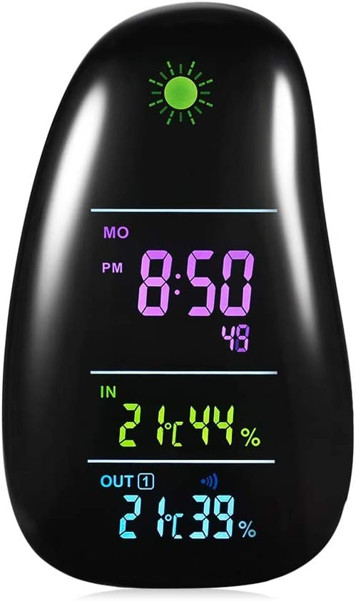 QWZ Alarm Clock with Multifunctional Smart SEAL limited product Station Weather supreme
