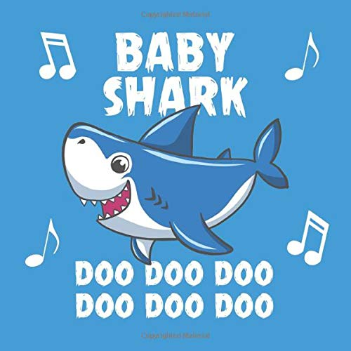 Download Baby Shark Doo Doo Doo: Cute Blue Beautiful Baby Shower Guest Book Gift Memory Keepsake Baby Book For A Newborn Baby Boy. 