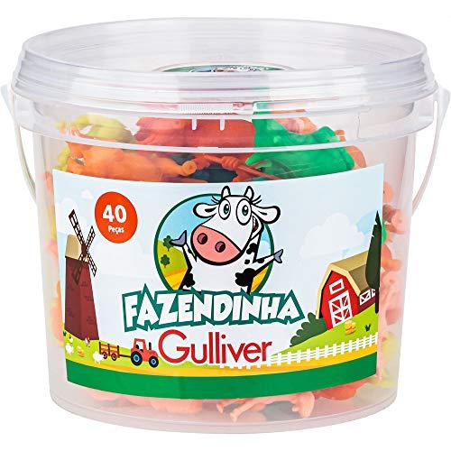 Balde Fazendinha, Gulliver, 40 Peças