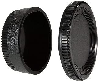 CamDesign Camera Body Cap & Rear Lens Cover Compatible with Nikon D3 D4 Df D300 D750 D700 D800 D610 D600 D70,D70S D80 D90 D3500 D3400 D3300 D3200 D3100 D5600 D5500 D5100 D5200 D5300 D7000 D7100 D7200