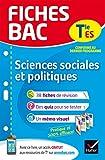 Fiches bac Sciences sociales et politiques Tle ES - Fiches de révision Terminale ES