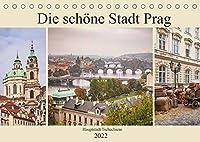 Die schoene Stadt Prag (Tischkalender 2022 DIN A5 quer): Hauptstadt Tschechiens an der Moldau (Monatskalender, 14 Seiten )