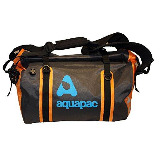 AQUAPAC reistas waterdicht Upano, grijs-zwart-oranje, 70 liter, 703