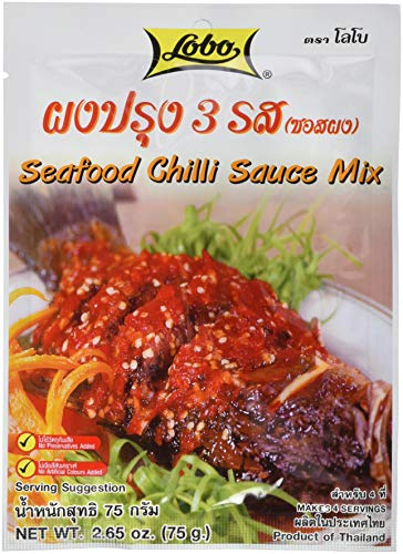 Lobo Würzpaste Meeresfrüchte & Chili, 12er Pack (12 x 75 g)
