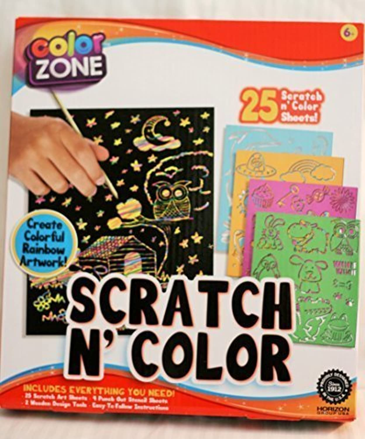 color Zone Scratch N color by color Zone