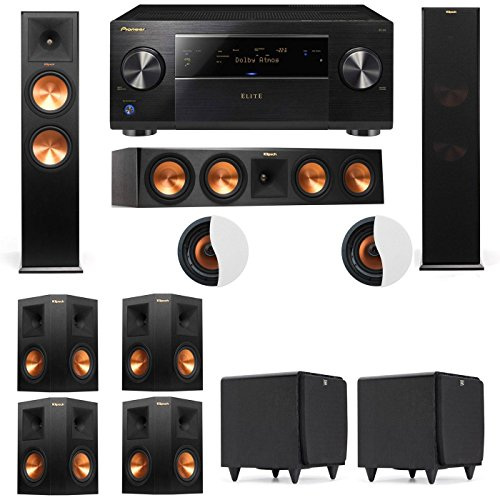 Why Should You Buy Atmos 7.2.2 Klipsch RP-280F Tower Speakers SDS12 with SC-85