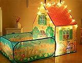 AILSAYA Kinder Spielen Zelt, Pop-up-spielhaus Mit Ballgrube, Faltbares Umweltfreundliches Material Indoor/Outdoor Discovery Game Zelte Für Mädchen, Jungen, Kinder, Babys Und Kleinkinder - Gartenhaus