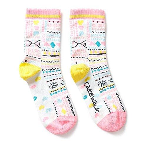Cakewalk Girls Socken Strümpfe ANJA in Bright White Größe 31-34