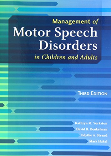 Management of Motor Speech Disorders in Children and Adults