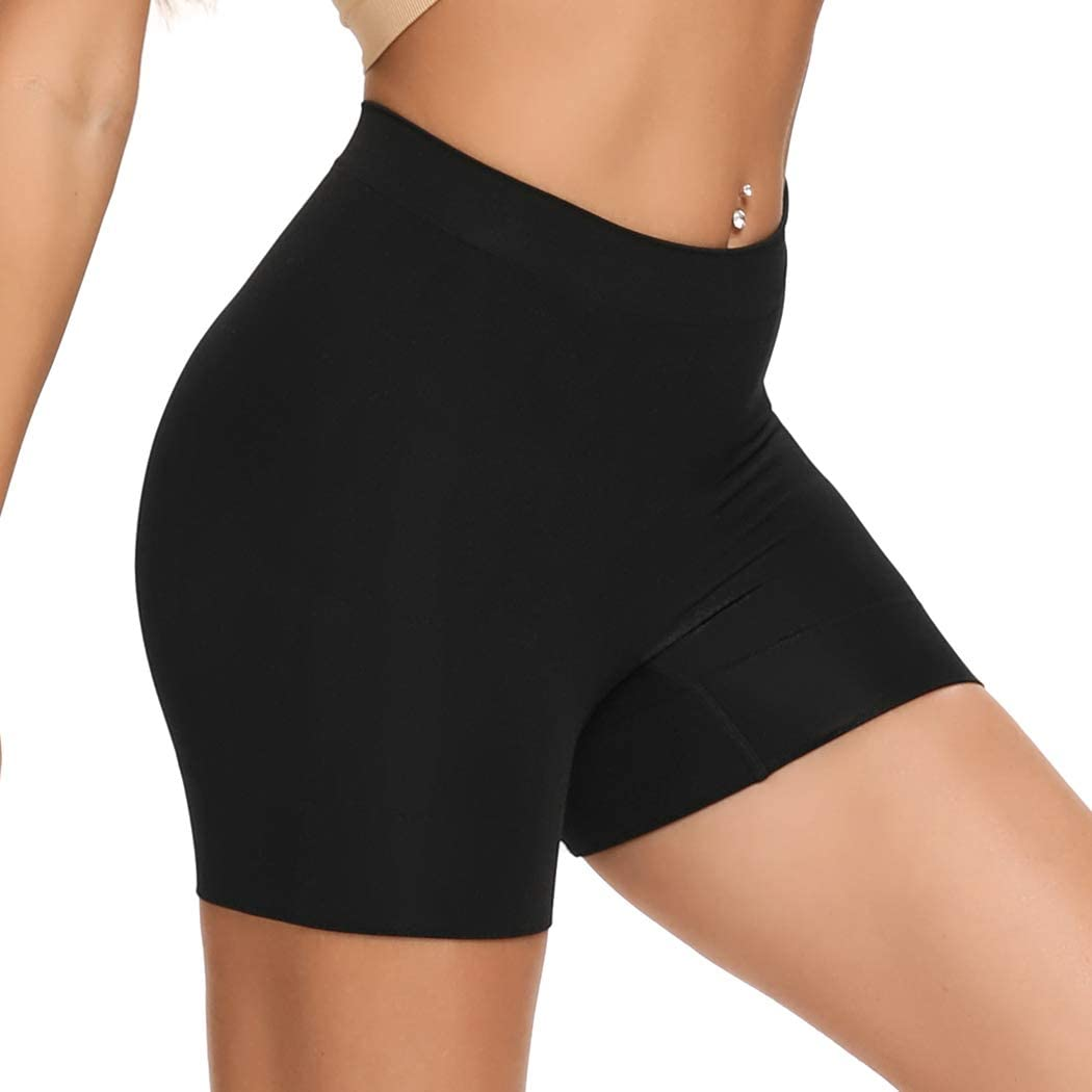 Joyshaper Slip Shorts Underwear for Women For Under Dresses Seamless Knickers For Yoga Control Panties Safety Pants Boxers Soft Comfortable Smooth Shapewear