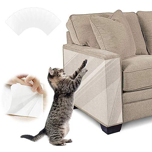 PetGens Couch Kratzschutz Katze Sofa, Kratzschutz for Katze, Kratzschutz Couch Möbelschutz, Doppelseitig Transparent Cat Furniture Protector (30cm x 45cm)