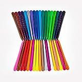 Crayones Triangulares de 36 Colores, Crayones de Colores No Tóxicos para Niños, Suministros de Arte Antiadherentes Multicolores y Duraderos, Regalos Divertidos para Estudiantes