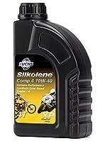 FUCHS SILKOLENE(フックスシルコリン) COMP4 10W40 XP 4L 4ストロークスポーツバイク用オイルJASO/MA2 SIL989804