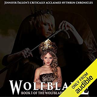 Wolfblade audiobook cover art