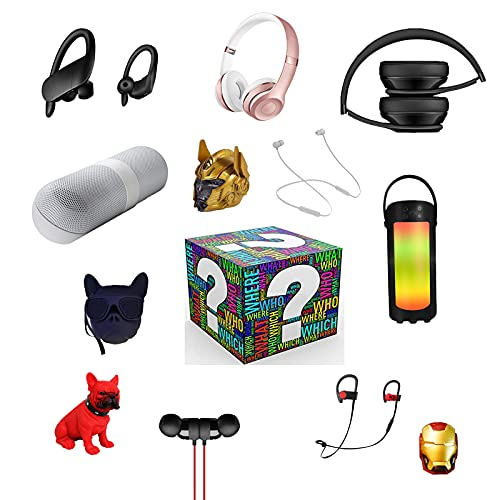 QEL ACCZ-Bluetooth Kopfhörer 1 Pack Blind Box B-Serie Kopfhörer Zufallskombination muss Kopfhörer erhalten HiFi-Soundqualität Bluetooth-Verbindung