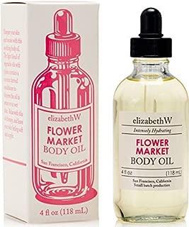 elizabethW Flower Market Body Oil - 4 Ounce