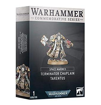 Games Workshop Warhammer Day Commemorative Series Space Marine Terminator Chaplain Tarentus  Limited Edition