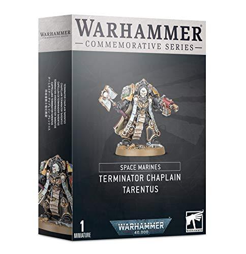 Games Workshop Warhammer Day Commemorative Series Space Marine Terminator Chaplain Tarentus (Limited Edition)