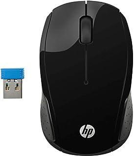 HP 200 Mouse sem Fio, Preto