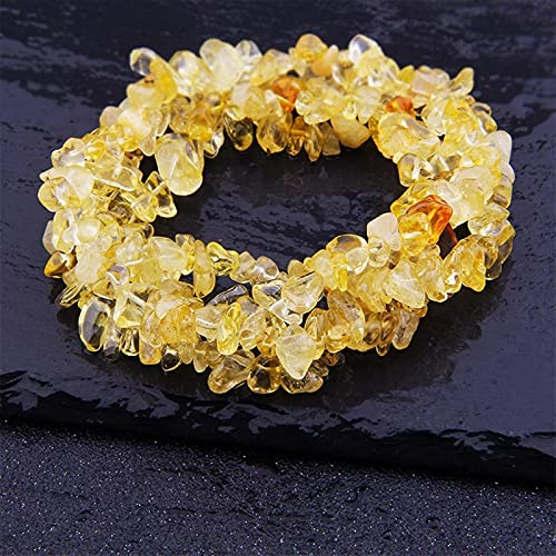 Qikafan Natural Lapis Opal Cuarzo Fluorita Ametes Freeform Chip Piedra Perras DIY Collar Pulsera...