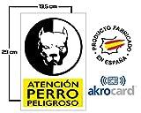 Cartel Resistente PVC - Señaletica de advertencia -...