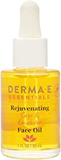 DERMA E Rejuvenating Sage & Lavender Face Oil, 1oz