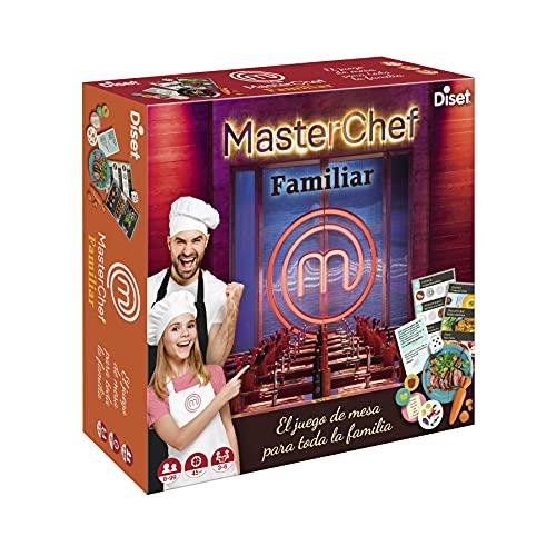 Diset - Masterchef, Juego de mesa familiar basado en el programa de televisión a partir de 10 años