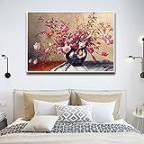 adgkitb canvas Lienzo HD Impreso Flor Abstracta Imagen Arte de la Pared Módulo...