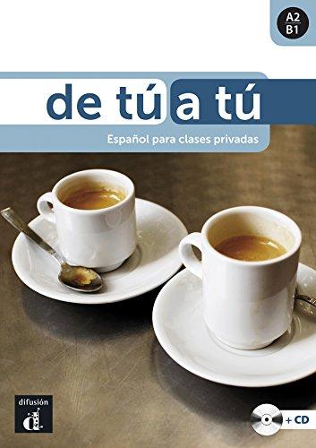 De tú a tú - Libro + CD: De tú a tú Libro del alumno + CD (Ele - Texto Español)