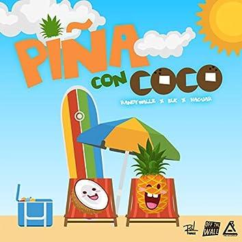 Piña con Coco (feat. Haguar & BLK)