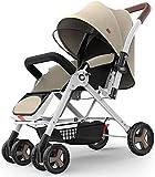 SYue Cochecito de bebé portátil Cochecitos de bebé cómodos y duraderos Cochecitos Cochecitos de bebé Plegables Ligeros para niños Cochecito de bebé para carros al Aire Libre Uso de Viaje
