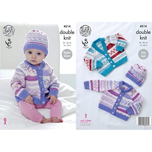 dcbffb38942c King Cole Cherish Knitting Pattern  Amazon.co.uk