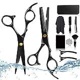 Friseurscheren Haarschere Friseur Zubehör Set[11 PCS], CarDition Schere Haare Schneiden Set mit...
