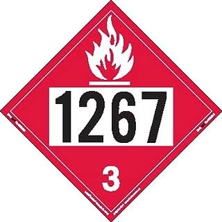 flammable liquid placard