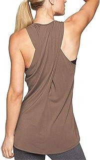 LOFBAZ Workout Tank Tops for Women Yoga Gym Shirts Athletic Clothes Plus S-4XL