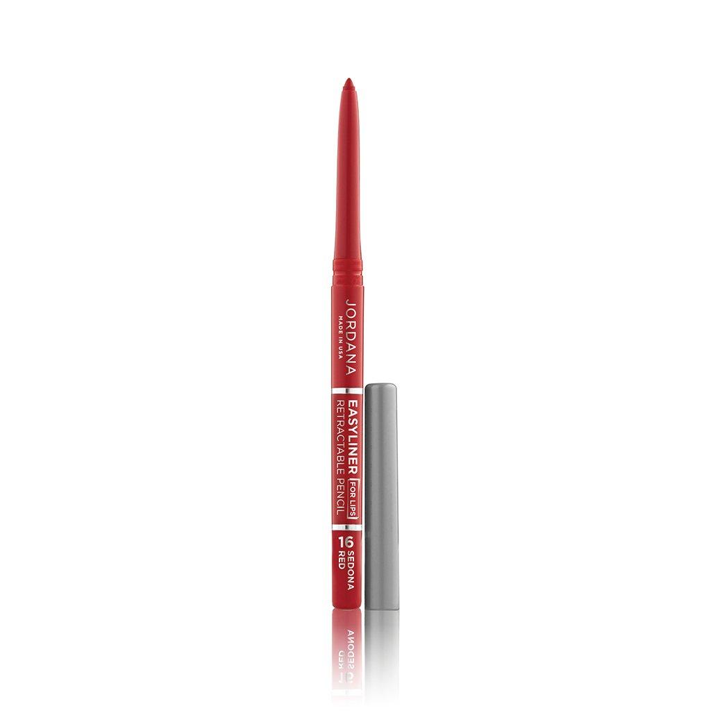 (3 Pack) JORDANA Easyliner For Lips - Sedona Red