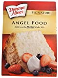 Duncan Hines Angel Food Cake Mix (Pack of 4)